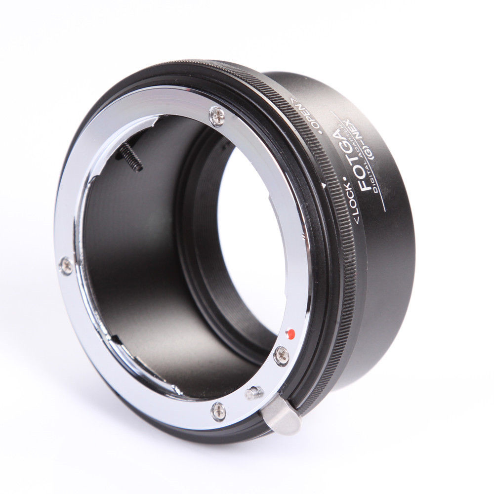 FOTGA Lens Adapter Ring for Nikon AI AF-S G Lens to Sony E-Mount NEX3 NEX-5 5N 5R C3 NEX6 NEX7