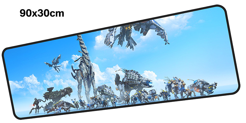 horizon zero dawn mousepad gamer 900x300X3MM gaming mouse pad large gifts notebook pc accessories laptop padmouse ergonomic mat