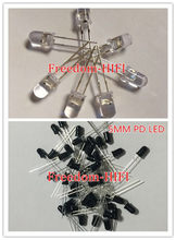 50 pièces 5mm infrarouge IR LED + 50 pièces 5mm LED récepteur infrarouge IR LED Diodes IR + PT 940NM 850NM 100 PCS/LOT(China)