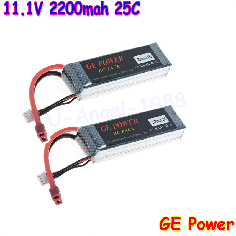 GE POWER 3S lipo battery 11.1v 2200mAh 25C rc helicopter rc car rc boat quadcopter remote control toys Li-Polymer battey mos rc airplane lipo battery 3s 11 1v 5200mah 40c for quadrotor rc boat rc car