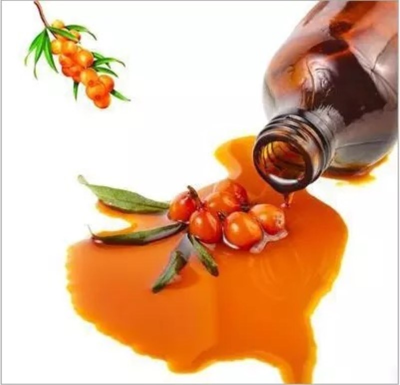 Seabuckthorn Fruit Oil Beauty Spices Pure Essential Oil Control Acne Shrink Pores Sea Buckthorn Fruit