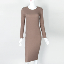 Autumn/Winter Knitted Midi Dress