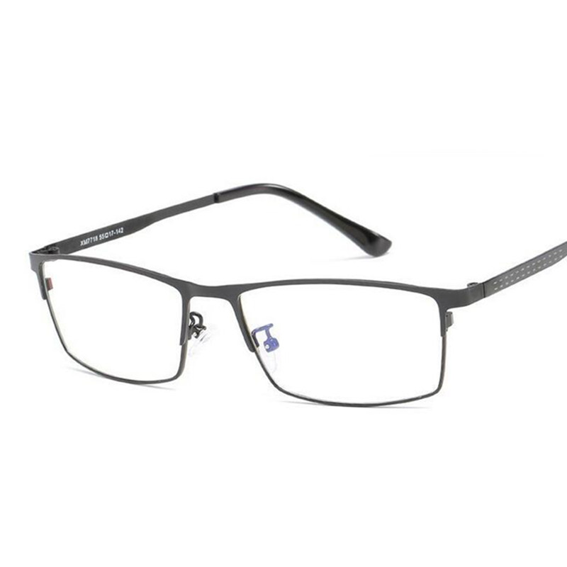 Blue Light Filter Glasses Frame Men Computer Gaming Goggles Eyeglasses Business Men Essential Full-frame Glasses