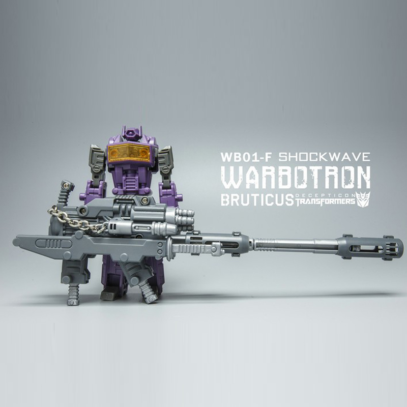 (In STOCK) Toys Warbotron WB-01F Bruticus Shockwave