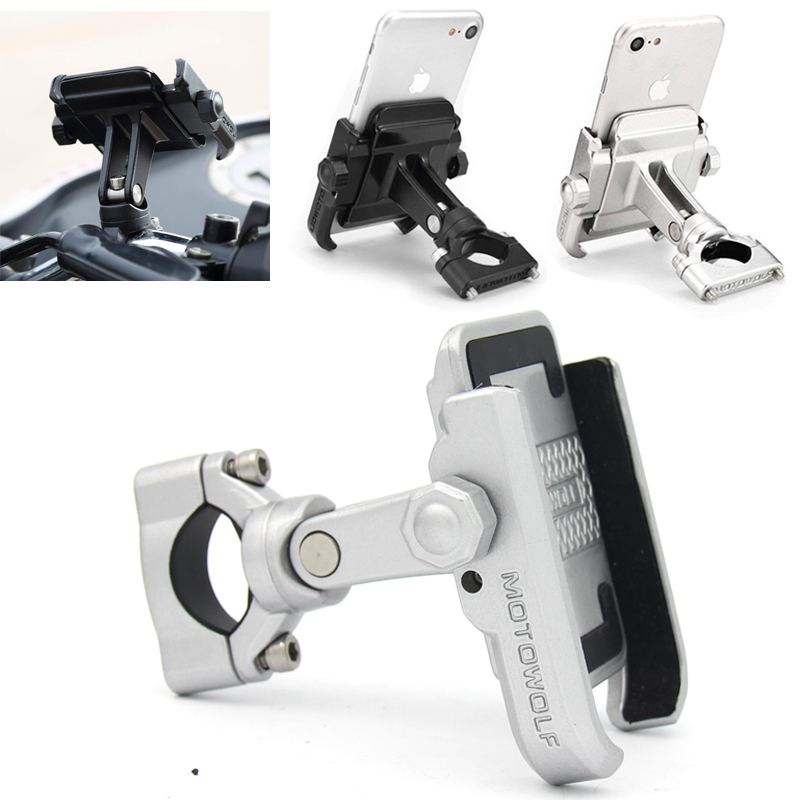 For BMW R1200gs Lc R1200 GS R 1200GS R NINE T 13-17 R NINET Universal Mobile Phone Holder Motorcycle Bicycle Stand Rotatable