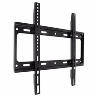 Universal Black TV Wall Mount Bracket LCD LED Frame Holder For Most 26 55 Inch HDTV