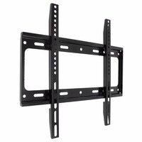 Universal Black TV Wall Mount Bracket LCD LED Frame Holder For Most 26 55 Inch HDTV