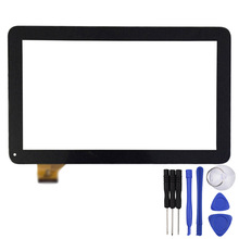 Nueva 10.1 pulgadas Negro/Blanco Pantalla Táctil para TZ21 TZ22 3G Tablet Digitalizador Del Sensor de Reemplazo Del Envío Libre