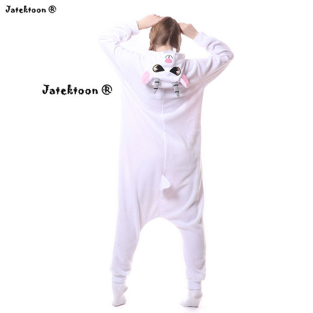 Other variety of animal costume in our store  sc 1 st  Aliexpress & Online Shop 2018 New cute Goat Lamb Onesies Pyjama Unisex Sleepsuit ...