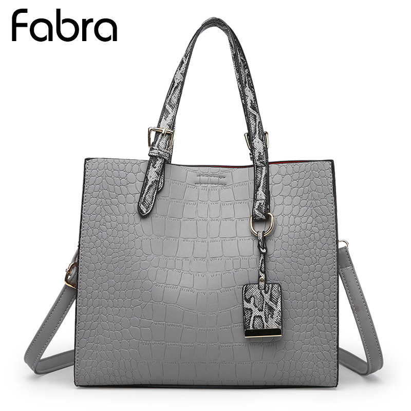 Fabra Women Messenger Bags Alligator Shoulder Bag Serpentine Strap Handbag Women PU Leather Small Quality Hand Crossbody Bag japanese pouch small hand carry green canvas heat preservation lunch box bag for men and women shopping mama bag
