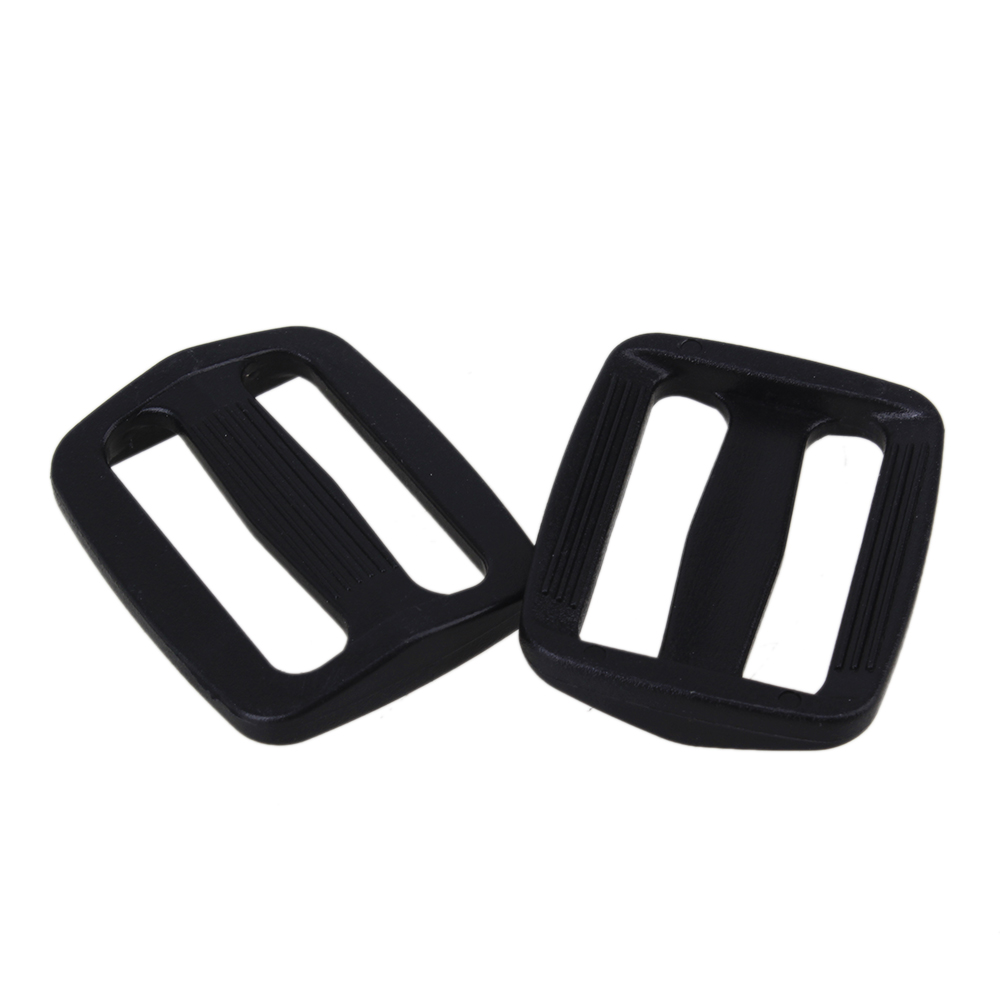 20pcs Tension Lock Plastic Strap Slide Triglide Sliplok Buckle Webbing 25mm цена