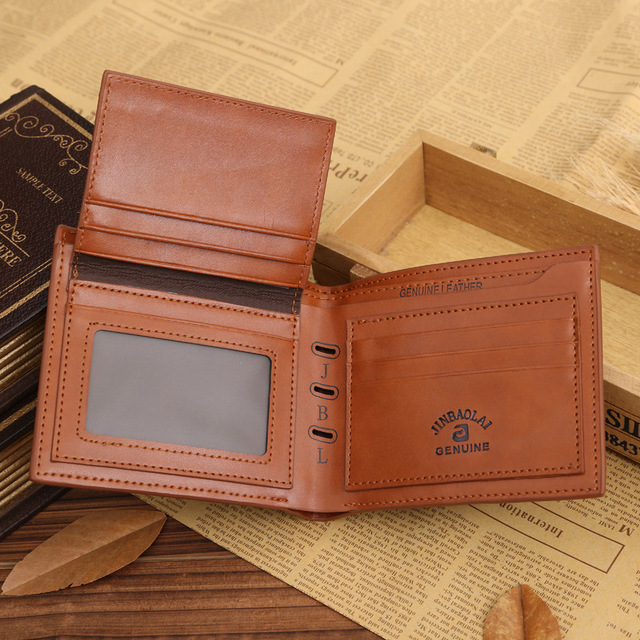 Small Slim Famous Brand Handy Portfolio Leather Men Wallet Purse Male Clutch Bag With Money Portomonee Walet Cuzdan Vallet Perse