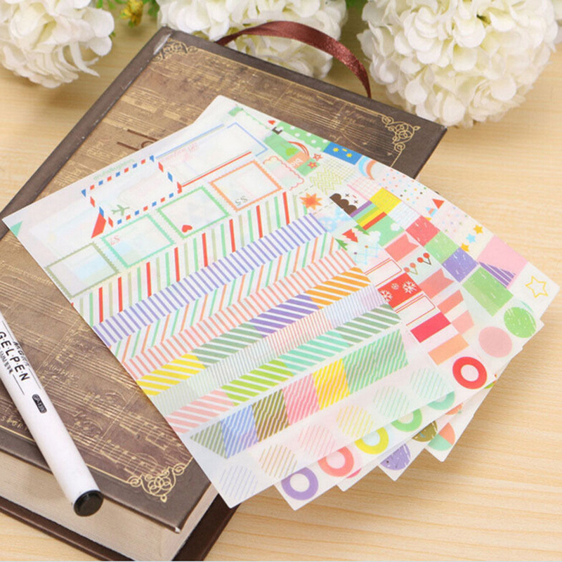 Diy Calendar Diary : Aliexpress buy sheet lot cartoon diy photo sticker