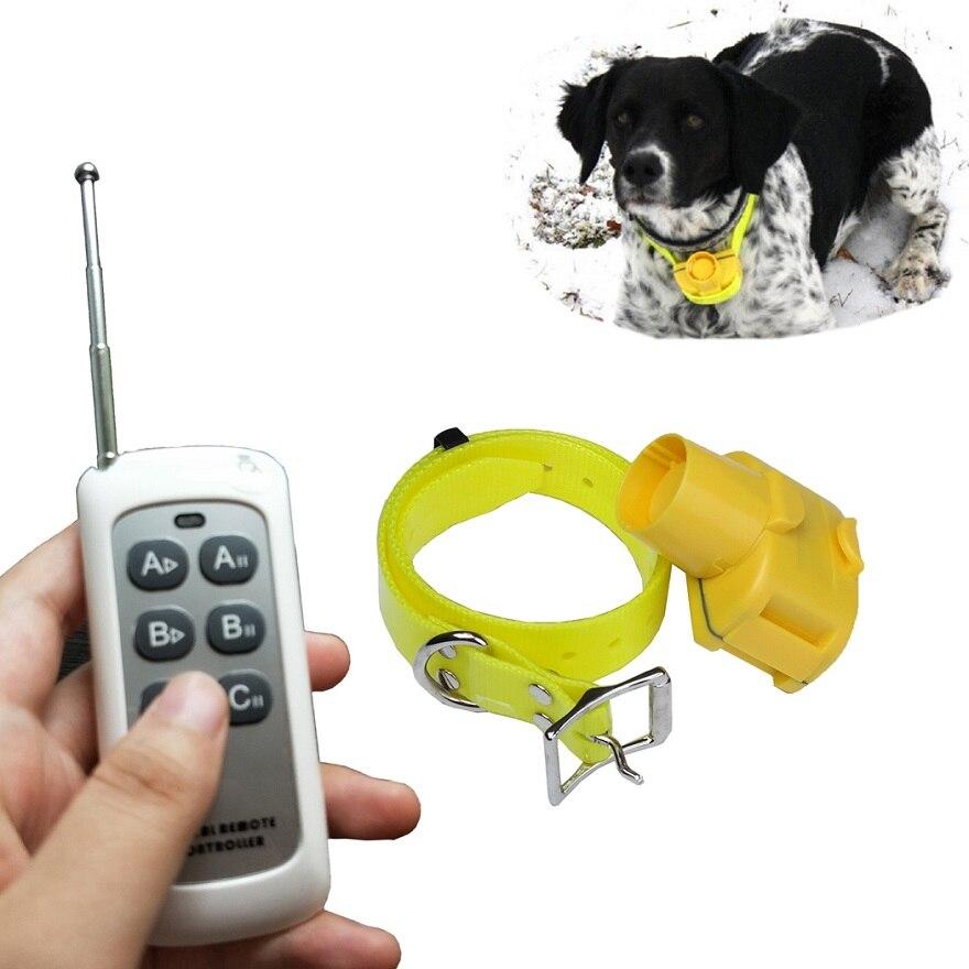 JANPET zmodernizowane 1000 m pilot zdalnego sterowania pies polowanie obroża z brzęczkiem 100% wodoodporna sygnał dźwiękowy obroże na polowanie psów w Obroże treningowe od Dom i ogród na  Grupa 1