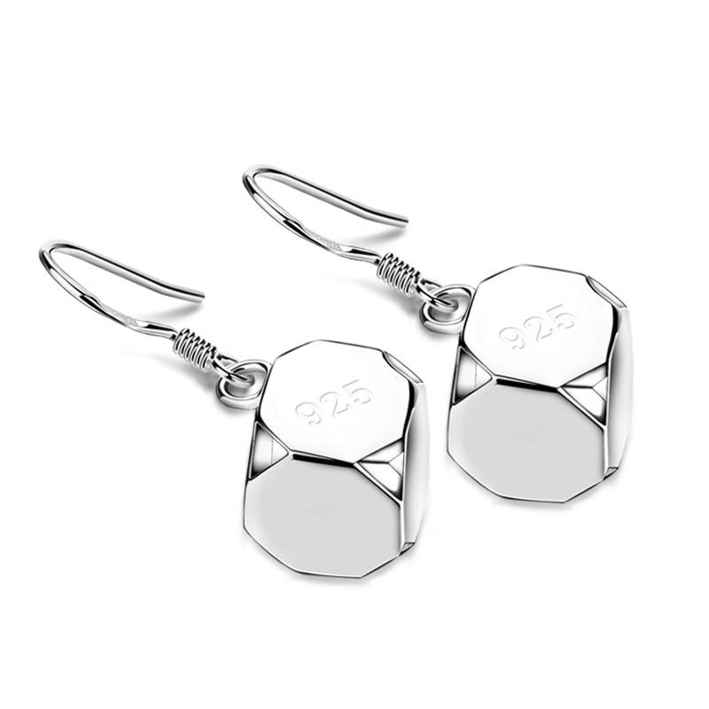 Nový design kouzlo ženy šterlinků stříbrné náušnice karty děti dívka zvonek náušnice pevné 925 stříbro není alergické náušnice šperky