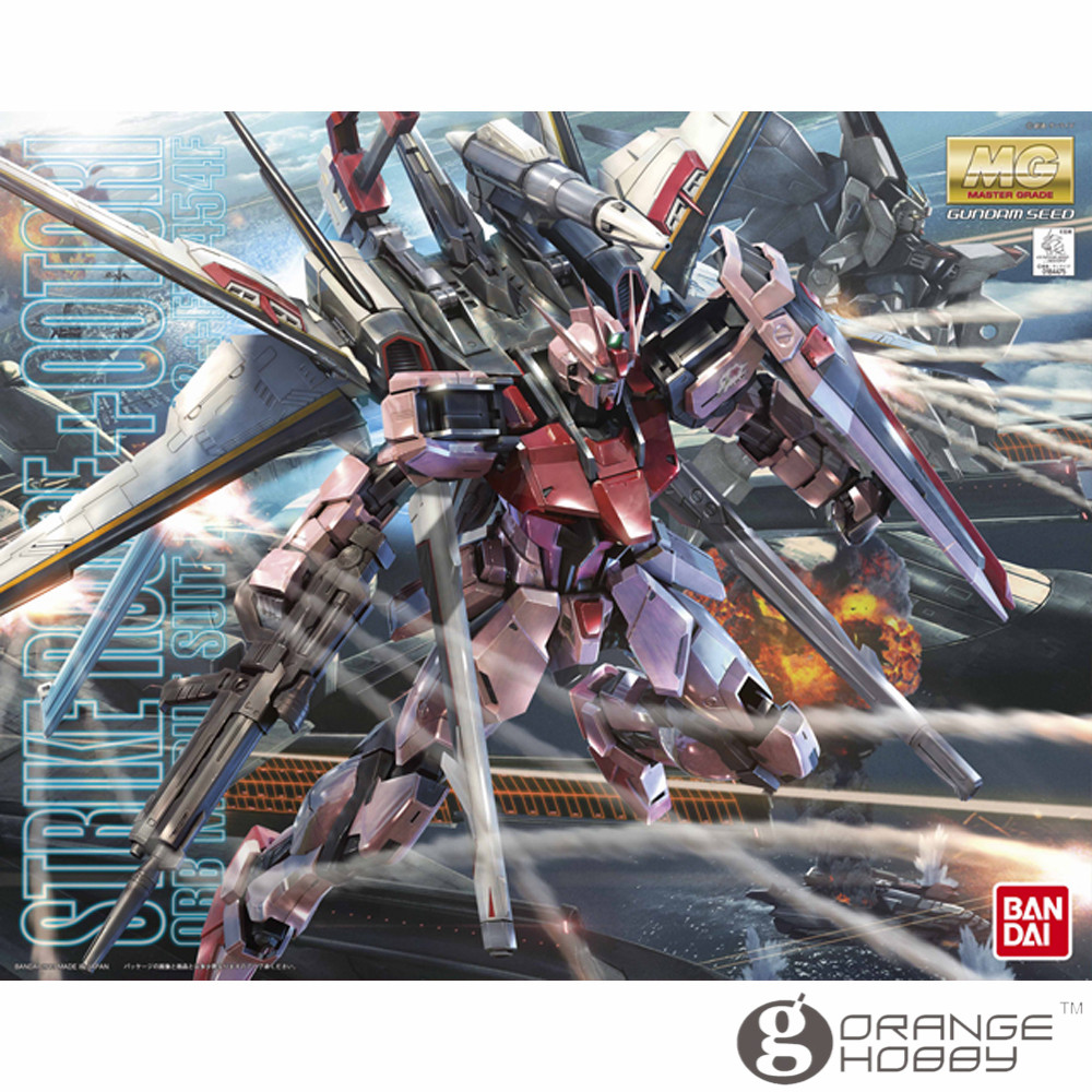OHS Bandai MG 173 1/100 MBF-02+EW454F Strike Rouge Ootori Ver.RM Mobile Suit Assembly Model Kits ohs bandai mg 179 1 100 sengoku astray gundam mobile suit assembly model kits