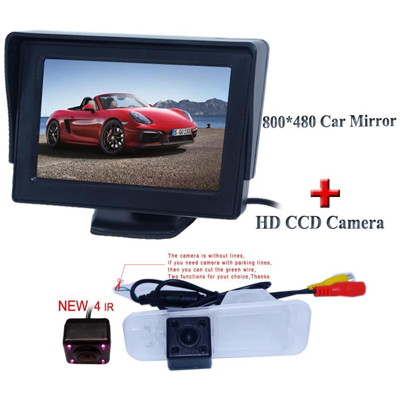 Caméra de recul voiture universel pour support de plaque d/'immatriculation ip67 600 TV Lines NTSC