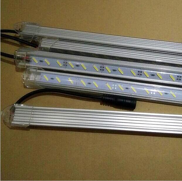100cm 72 Double chips SMD 8520 led bar light 1m Super bright 12V LED Rigid
