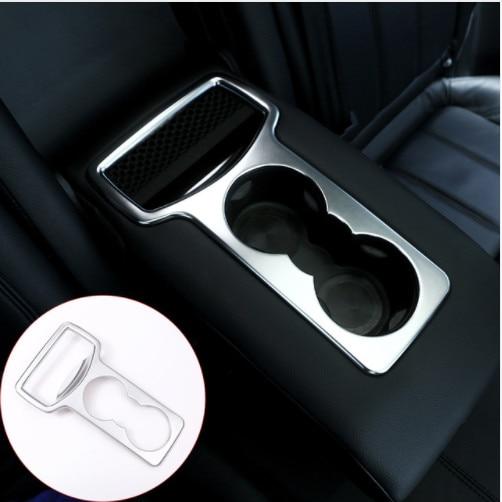 Pour Land Rover Rand Rover Sport 2014-2016 support de verre de siège arrière style voiture garniture ABS accessoires intérieurs Chrome mat