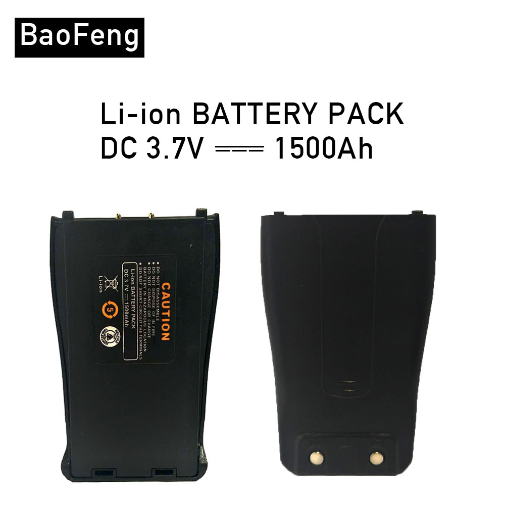 Baofeng 888S Original Battery 1500 MAh 3.7V  For BF-777S BF-888S BF-666S BAOFENG 888 777 666