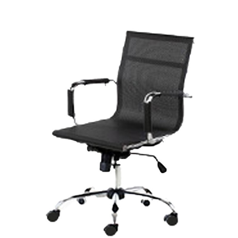 Free Eu Shipping Fishion Bow Computer Household To Work In An Office Netting Game Ergonomic Backrest Swivel Boss Chair
