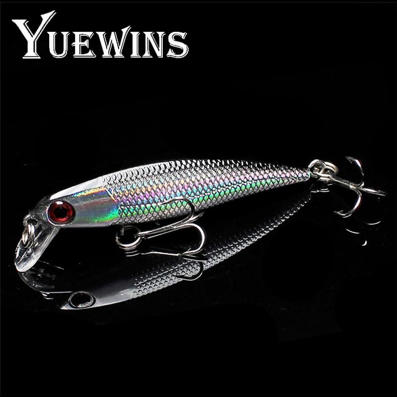 Yuewins Pike Fishing Lures 6cm 4.2g Minnow Bait Crankbait Isca Artficial Hard Bait Fishing Wobblers Bass Fake Fish Carp QA232