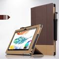 """De moda de alta calidad de cuero case para lenovo yoga libro case lujo 10.1 """"cubierta de libro de la cubierta del tirón para lenovo yoga tablet pc shell"""