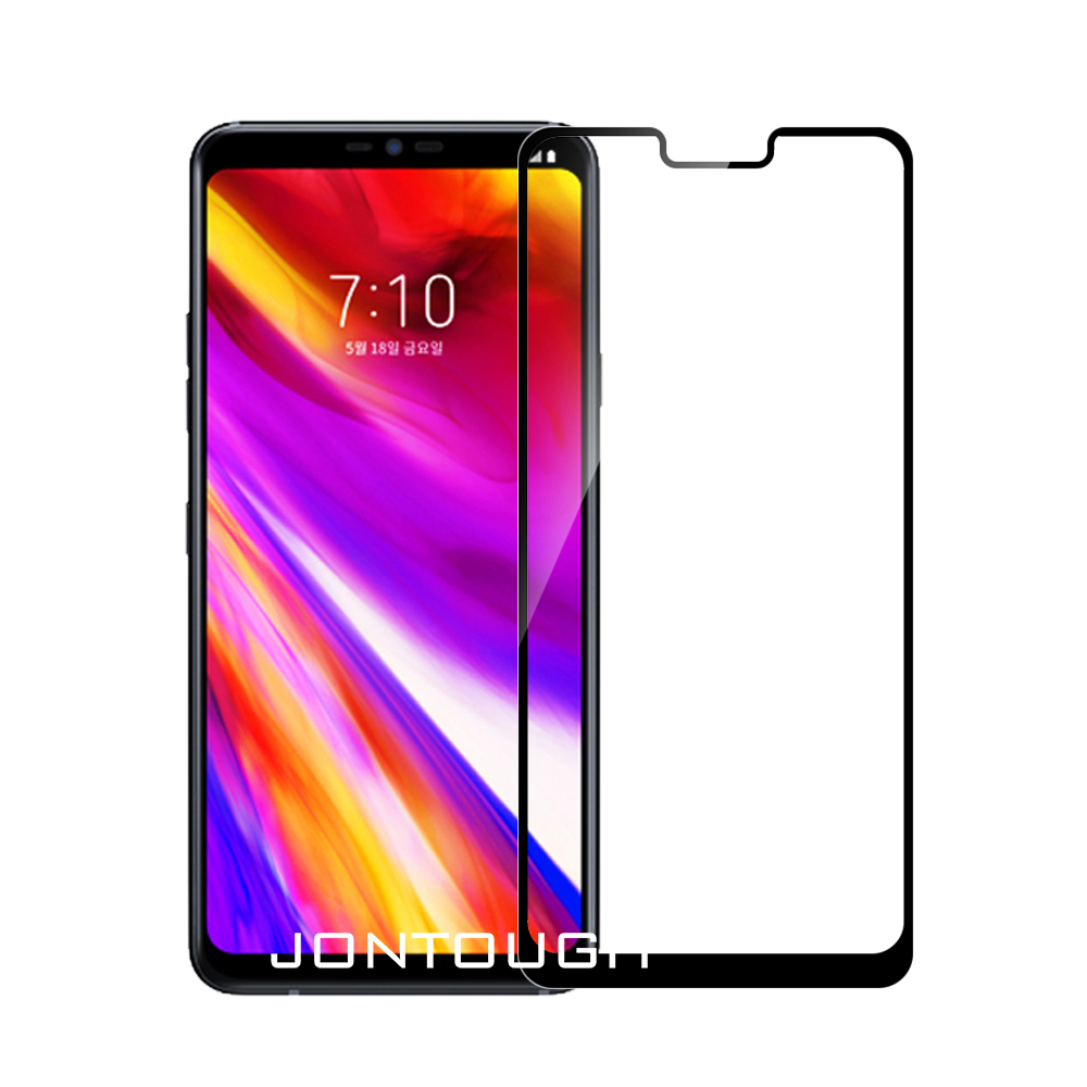 3D full cover for LG G7 tempered glass screen protector case friendly bubble free accessaries