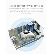 High Power 70dB Gain GSM 900MHz repetidor Moblie Booster Antenna Set