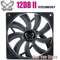 SCYTHE 12DB II SY1225DB12H P 1850 PWM 4P 120mm PC Computer Case Fan CPU Cooler Cooling Heat Sink Radiator 12cm Fan