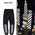 New Brand Off White Men Pants Justin Bieber trousers High Street Hip Hop  kanye Sweatpants Winter women Full Length Casual Pant