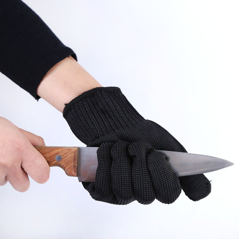 Electric Power Tool Hand Protect Work Gloves Steel Wire Wear-resisting Anti-cutting Safety Gloves Cut Protection Puncture-proof personal cut resistant work gloves static resistance glove stainless steel wire safety work anti slash cut proof fc