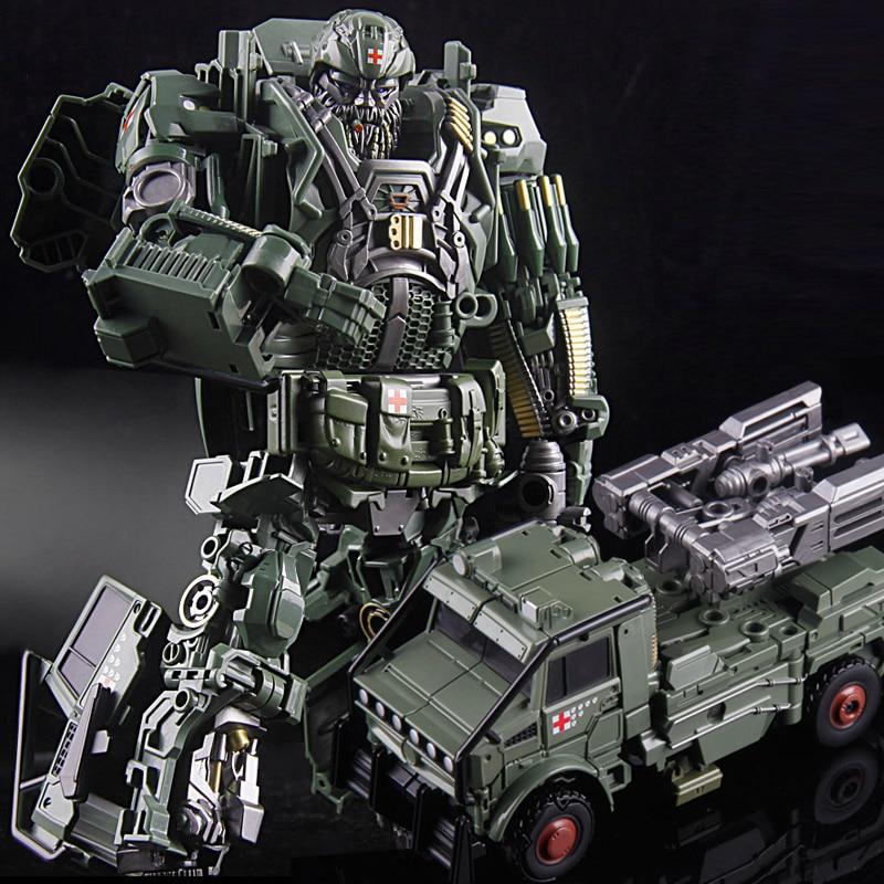 Livraison gratuite offre spéciale Leader Hound grande taille 23 cm Weijiang modèle TF Robot de Transformation Optimus alliage & ABS