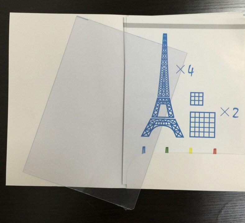 3D printing pen graffiti board template copy board 20 random special - printing paper template