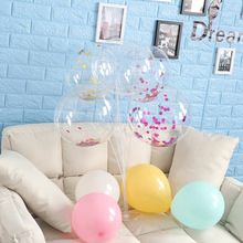 5/10/8/24 inch No Wrinkle Bobo Transparent Clear Balloons Marriage Wedding Decoration Helium Inflatable Balls Bubble