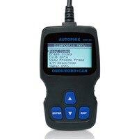 OBDMATE OM123 OBDII Car Diagnostic Code Scanner Black