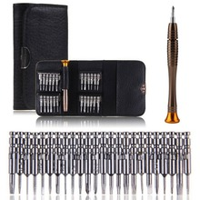 цена на 1 Screwdriver Set 25 In 1 Universal Torx Screwdriver Repair Tool Set For iPhone Cellphone Tablet PC Repair Portable Tool Kit Hot