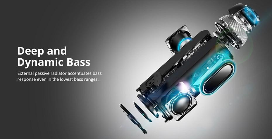 Tronsmart Element T6 Bluetooth 4.1 Altavoz portátil Receptor de audio de barra de sonido inalámbrica Mini altavoces USB AUX para música MP3 Player4
