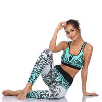 LI-FI Yoga Set Fitness Sports Women Running Suit Push Up Leggings Yoga Wear Workout Gym Wear Tight Slim Training Suit