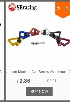 Japan Models Car Screw Aluminum Cnc Triangle Ring Tow Towing Hook Jdm Race For Honda Toyota Vr008 Travel & Roadway Product Vr Racing