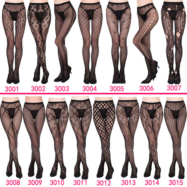 DOIAESKV Plus Size Tights Women Sexy Erotic Lingerie Pantyhose Sex Body Stockings Large Size Tights Sexy Women Fishnet Pantyhose 5