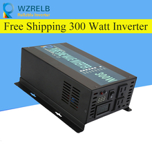 цена на Reliable Peak 300W Pure Sine Wave OFF Grid Inverter DC12V/24V to AC220V Power Inverter Converter Houseuse Solar System