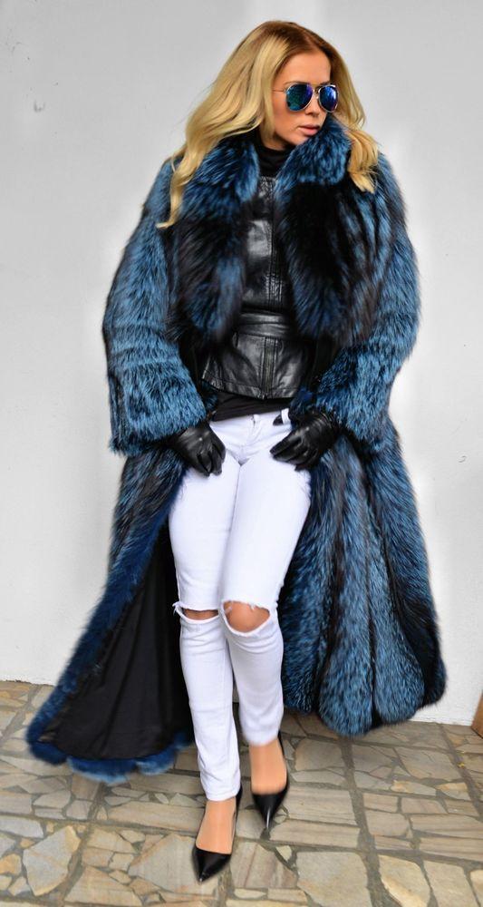 Chaud D'hiver Supérieure Bar Silver Wide Col 2019 100Naturel Renard Fourrure De Long Bar Fox Qualité Femmes Manteau Pour Style Vente a Femelle 2EH9WDI