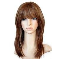 Кошерный еврейский парик шелковая основа кружева передние человеческие волосы парики с челкой прямые европейские натуральные волосы пари