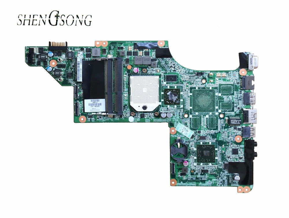laptop Motherboard for hp DV7 DV7-4000 605496-001 Motherboard DAOLX8MB6D1 notebook mainboard Free Shipping 628189 001 for hp dv3 4000 dv3 laptop motherboard ddr3 free shipping 100