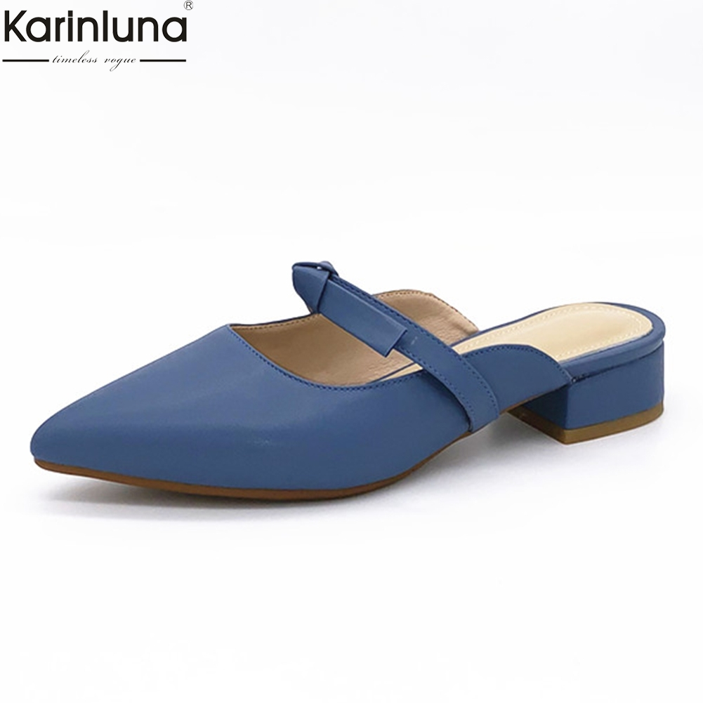 hot sale dropship 2019 big size 33-43 woman shoes pointed toe sweet mules shoes woman pumps femalehot sale dropship 2019 big size 33-43 woman shoes pointed toe sweet mules shoes woman pumps female