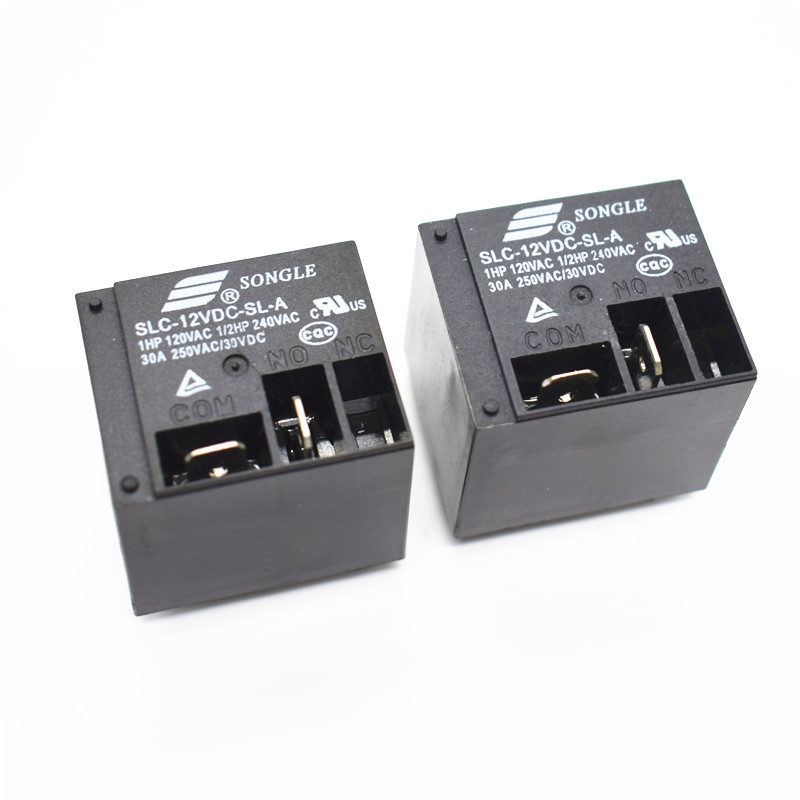 цена на Power relays SLC-12VDC-SL-A 12V 30A T91 HF2100 4PIN A group of normally open