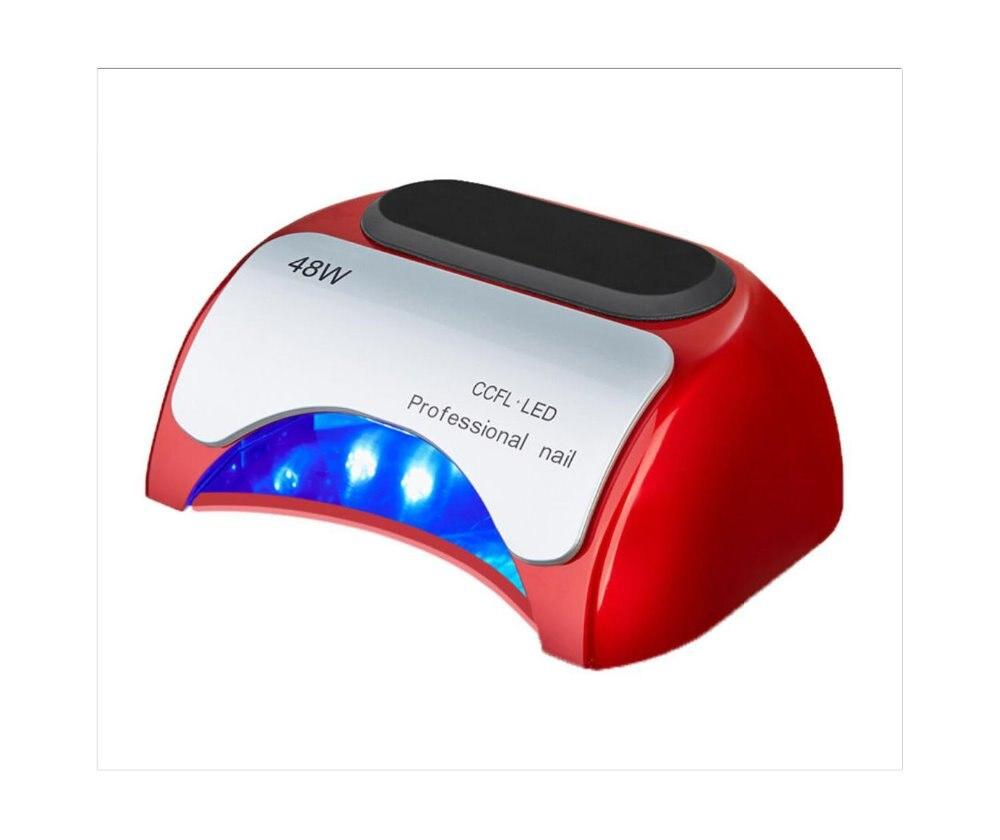48W LED UV Lamp Light 110-220V Nail Dryer tool with Automatic Induction Timer Settingled gel nail polish dryer