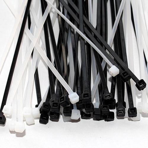 2017 Новые 100 шт. 3x100 мм сетевой нейлон стяжки пластиковые кабель провод организатор кабельные стяжки