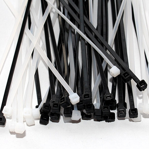 2017 New arrival Design 100pcs 3x100mm Network Nylon Plastic Cable Wire Organiser Zip Tie Cord Strap